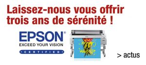 Extension de garantie Epson SureColor SC-P, Dg solutions Graphiques