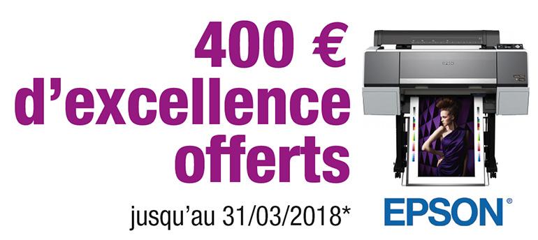 remise 400 € / promotion prolongée jusqu'au 31/03/2018