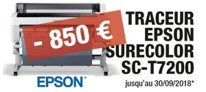 Traceur Epson Surecolor SC-T7200 promo