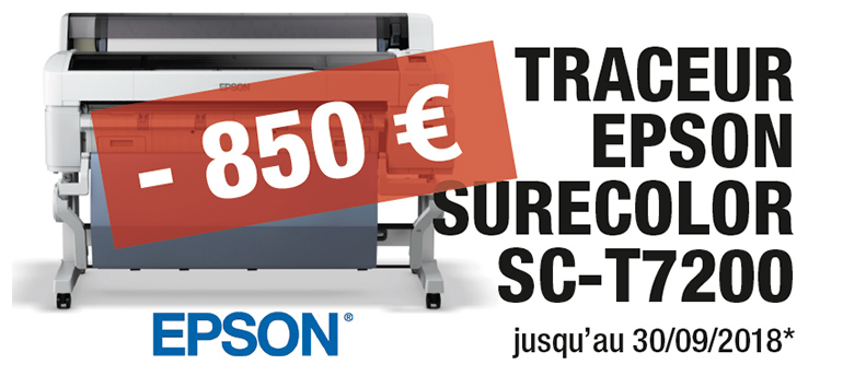 Traceur Epson Surecolor SC-T7200 promo, formation, Loire Atlantique, Nantes, Easy Catalog, Adobe Indesign, formation, Quark, Epson